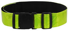 """Neon Green Hi Vis Reflective Safety Belt Yellow US Army Military Running PT 2"""""""