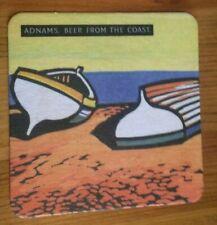 Adnams Beer from the Coast Broadside beer mat