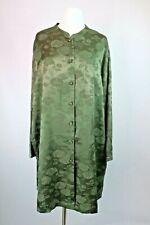 VTG 90s Lane Bryant Intimates Plus 26/28 Green Floral Nightshirt Sleep Shirt