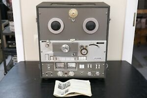 Vintage Akai X-355D 4-Track Reel-to-Reel Tape Recorder and Player | AS IS