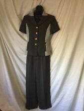 Ozone Olive Green Pant Suit In Size M