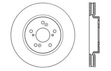 Centric Parts 121.40073 Front Disc Brake Rotor