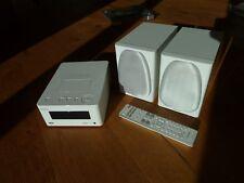 Denon CEOL Piccolo Stereoanlage RCD-N5 mit Lautsprechern SC-N5 weiß