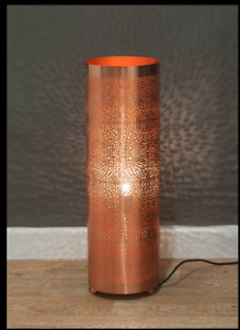 Moroccan design Rose Gold Floor/Table Lamp