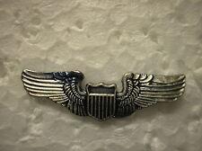 MILITARY HAT PIN - U. S. AIR FORCE  PILOT WINGS