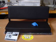 LAND ROVER REAR BENCH SEAT BLACK VINYLE NEW 320737