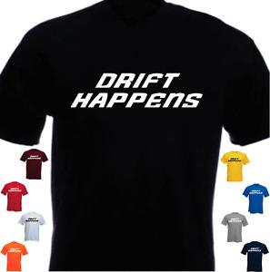 Drift Happens drifter t-shirt