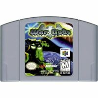 War Gods Nintendo 64 N64 Authentic Game Cartridge *CLEAN VG