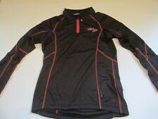Brand New Ladies XS Black Harley Davidson Base Layer Polyester Pullover