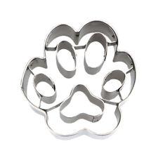 Pfote 4,5 cm Präge- Ausstecher Ausstechform Keksausstecher Hundepfote