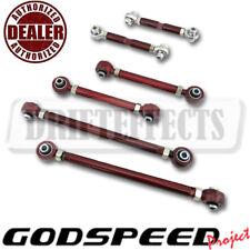 FOR BMW 06-11 3 SERIES E90 E92 E93 GSP ADJUSTABLE REAR CAMBER+TOE+TRAILING ARM