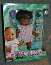 Playmates Li'L Amazing Ashley Nib Vintage 2001 Talks/Moves African American