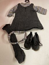 Pleasant Company 1996 Gray Wool Jumper FIRST RELEASE American Girl Outfit