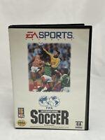 Sega Genesis - FIFA International Soccer Game Box Case - Complete