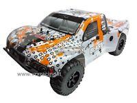SHORT COURSE TRUCK 1/10 OFF-ROAD ELETTRICO 4WD DOPPIO TELAIO METALLO OMOCINETICI