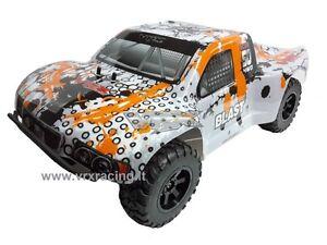 SHORT COURSE TRUCK 1:10 OFF-ROAD ELETTRICO 4WD DOPPIO TELAIO METALLO OMOCINETICI