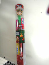 PEZ CANDY WITH ELF DISPENSER 10 PACKS OF PEZ CANDY