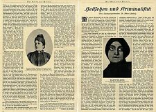 Hellsehen und Kriminalistik Aufsatz v.Langerichtsdir.Dr.Albert Hellwig 1924
