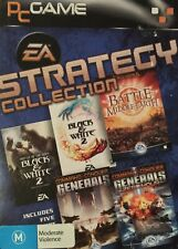 EA Strategy Collection LOTR BFMO Black and White 2 Command and Conquer Generals
