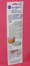 Candies,Sugar Sheet,Cupcake Stickers, Edible,Wilton,710-2979,Multi-Color