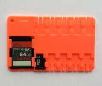 Red Micro SD/SDHC/SDXC Card Storage Holder Case Portable Wholesale Price