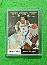 RUSSELL WESTBROOK PRIZM LIGHTS CAMERA ACTION ROCKETS 2019-20 HOOPS BASKETBALL