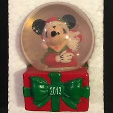 Disney Collectible Mickey Mouse Snowglobe New 2013