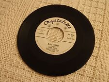 LARRY BODAS BLACK VELVET/ADIOS MY LOVE CRYSTALETTE 710  PROMO M-