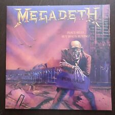 MEGADETH Peace Sells...But Who's Buying - Translucent Purple Vinyl NEW SEALED
