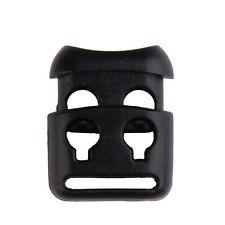 10 JECS Shoelace Buckle Non-slip Survival Stopper Rope Clip Clamp Cord Lock ESUS