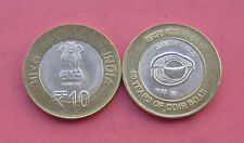 """INDIA 10 RUPEES /""""125th Birth Anniversary of Dr BR Ambedk/"""" BI-METAL 2015 COIN UNC"""