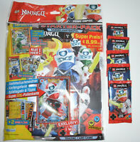 LEGO Ninjago Serie 5 Trading Card Game - Starterpack + 5 Booster - Neu & OVP
