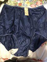 VINTAGE  blue    ANTRON NYLON sizes 7  vassaeette