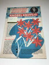 Frösi 1962 - 11 - nur die Beilage - Digedags,Atze,Bummi,DDR Romanhefte,Ostalgie