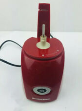 Hamiton Beach Red 3 Cup Food Chopper Model 72703 Base Motor Only