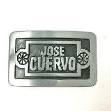 Silver Colored Buckle 1977 Jose Cuervo Tequila Vintage
