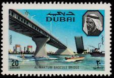 ✔️ DUBAI 1970 - BRIDGE ARCHITECTURE - MI. 380 ** MNH OG  [03.18.002]