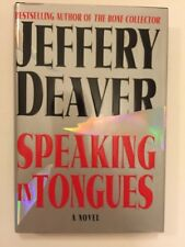 Speaking in Tongues by Jeffery Deaver (2000, Hardcover)