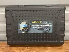 Cylinder Compression Tester Kit, 200  PSI Digital Compression Gauge,Adapter&Hose