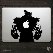 Street Fighter Akuma Macbook Decal / Macbook Sticker