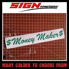 Money Maker sticker / vinyl / decal $