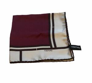 Tom Ford Silk Pocket Sqaure RRP £135...