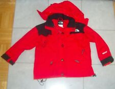 Vintage The North Face Gore Tex KID`S Jacket Red Black - SMALL