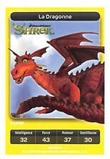 Carte Carrefour Dreamworks - Shrek - La Dragonne N°21