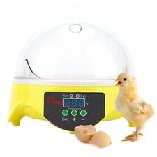 7 Eggs Digital Incubator Fully Auto Digital LED Egg Incubator Hatcher Machine