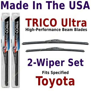Buy American: TRICO Ultra 2-Wiper Blade Set fits listed Toyota: 13-26-14