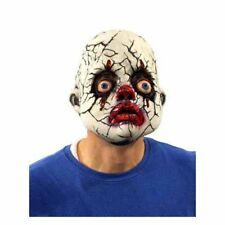 Cracked Clown Creepy Evil Doll Face Funny Zagone Studios Adult Latex Mask