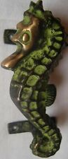 Brass dragon door handle knob vintage unique shape home décorative utility art