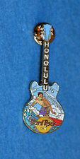 HARD ROCK CAFE 2003 Honolulu 16th Anniversary - Honolulu Guitar Pin (no. 19039)