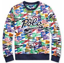 Polo Stadium Ralph Lauren Pride Baseball Pennant Bears Polo Sport Script Sweater